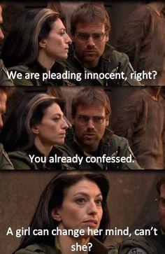 Stargate SG-1 - A girl can change her mind!