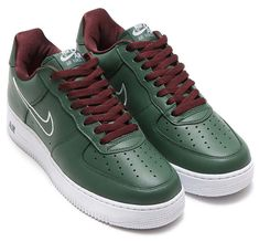 NIKE AIR FORCE 1 LOW RETRO [DEEP FOREST / WHITE-EL DORADO] 845053-300