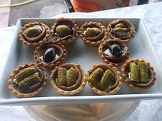 Cosas de Jorge: Tartaletas de queso y anchoas