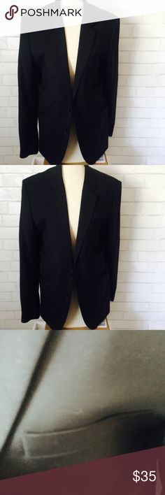 H & M Black Sport Coat Size 36 Regular Really nice lightweight men's H & M sport coat blazer.  It is in great condition. Was only worn a couple of times.  From a smoke free home. H&M Suits & Blazers Sport Coats & Blazers