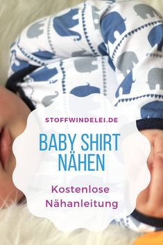 free sewing pattern and sewing instructions for a baby shirt 50 / / / / 92 - Nähen - Baby Diy Sewing Baby Clothes, Sewing Shirts, Baby Sewing, Sewing Tutorials, Sewing Hacks, Sewing Projects, Tutorial Sewing, Sewing Tips, Diy Projects