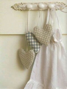 2b60a75f791 Debbie Bliss knitting patterns, Knits For You And Your Home by Debbie Blis,  Lavender Hearts, from Laughing Hens