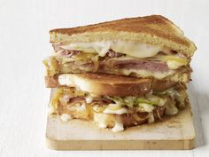 Ham-Taleggio Grilled Cheese Recipe : Food Network Kitchens : Recipes : Food Network