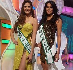 Dos de las Chicas que lograron entrar al Concurso del Miss Venezuela 2015..