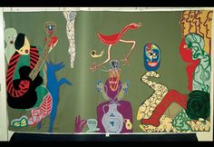 Violeta Parra, sus arpilleras y pinturas | Emol Fotos Textiles, Picasso, Chile, Embroidery, Stitch, Cool Stuff, Painting, Google, Image