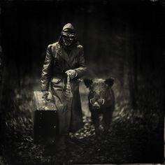 Enchanting and Surreal Wet Plate Collodion Photography by Alex Timmermans