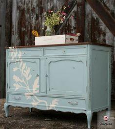 Fern Dresser by FunCycled.  www.funcycled.com