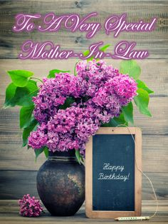 30 Best Birthday Cards For Mother In Law Images Anniversary Cards