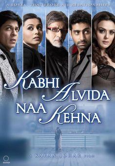 Kabhi Alvida Na Kehna - Directed by Karan Johar - Such a sad but happy film <3