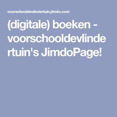 (digitale) boeken - voorschooldevlindertuin's JimdoPage!