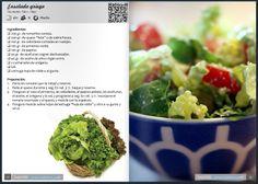 Captura de la revista de mayo con la receta de ensalada griega. Se puede acceder a la revista digital en la siguiente dirección: http://issuu.com/todotmx/docs/mayo_2014