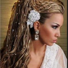 Bejeweled hair