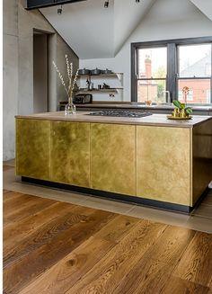 Die 25 Besten Bilder Von Kuche Mit Holzboden Open Plan Kitchen