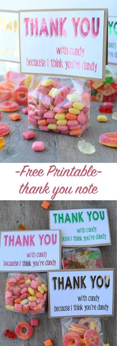 free printable thank you note | NoBiggie.net #hsminc #foilallthethings