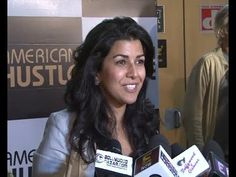 LUNCH BOX actress Nimrat Kaur at AMERICAN HUSTLE special screening.