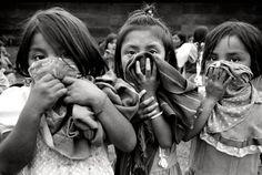 EZLN- Niñas zapatistas photo by Raúl Ortega