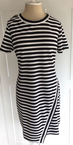 Absolutely LOVE this Ezra Scarlett Striped Dress.  Photo from My Subscription Addiction
