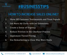 Business Tips for you.