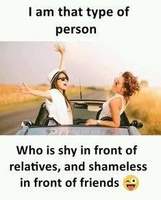 Friendship quotes funny - Friends funny memes in www fundoes com Best Friend Quotes Funny, Besties Quotes, Funny Quotes About Life, Funny Life, Jealous Friends Quotes, Friend Jokes, Best Friends Funny, Crazy Girls, Crazy Girl Quotes