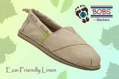 Easygoing and earth-friendly style is in the bag with the BOBS Chill - Recycle shoe.