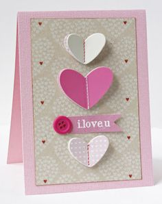 Valentine #1 from Gretchen McElveen.  Instructions on the blog!