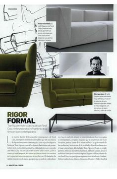 Toan Nguyen for Fendi Casa at Arquitectura Y Diseno Spain September 2014 issue