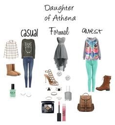 """""""A Daughter of Athena"""" by a-fangirl-mrc ❤ liked on Polyvore featuring H&M, 7 For All Mankind, WearAll, UGG Australia, Lauren B. Beauty, Schutz, Christian Dior, Maybelline and Wild Diva"""