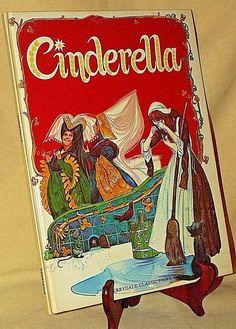CINDERELLA BY IAN ROBINSON DERRYDALE CLASSIC FAIRY TALE BOOK 1980 GERRY EMBLETON