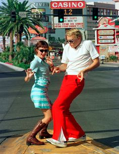 Vegas baby! Heath Ledger and Rose Byrne - Two Hands (1999)