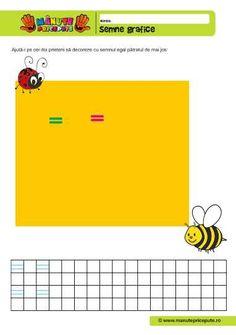 Semne grafice Archives - Manute Pricepute Kindergarten, Education, 1st Grades, Kindergartens, Onderwijs, Learning, Preschool, Preschools, Pre K