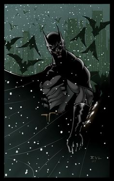 "Batman Returns by Erik VonLehmann. We have ""Batman: The Dark Knight Returns"" at PN6728 .B37 M55 1986 (3rd floor) and other Batman comics (do a title search for Batman in the library catalog!)"