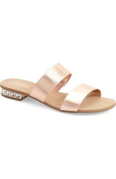 7c3620e35d4730 Dune London  Nesha  Flat Slide Sandal (Women) available at  Nordstrom Slide