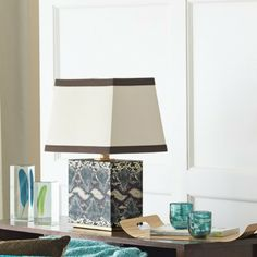 Threshold™ for Target Faux Snake Skin Lamp - love the look of this lamp.
