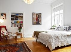 25 Scandinavian Bedroom Designs To Leave you in Awe - Rilane