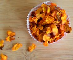 CRISPY OG SUNNERE GULROT-CHIPS Snack Recipes, Snacks, Chips, Pie, Desserts, Food, Group, Alternative, Blogging
