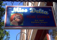 Miss Delta 3950 N. Mississippi Ave.  HAPPY HOUR: Daily 4-6pm & 10- close Fri/Sat  SPECIAL: Monday Meal for 8 dollars