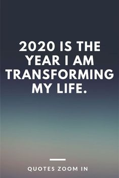 Happy New Year Quotes : 2020 is the year I am transforming my life cards for the year Positive New Year Quotes, New Year Motivational Quotes, Quotes About New Year, Inspirational Quotes, New Year Meme, Life Quotes Love, True Quotes, Quotes To Live By, Best Quotes