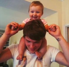 This is a turn on. Josh Devine and Baby Lux. <3