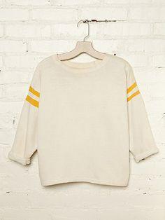 Vintage Cropped Sweatshirt