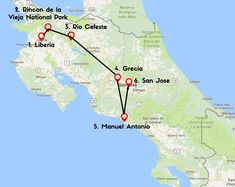 10 days in Costa Rica waterfalls itinerary