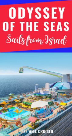 Odyssey of the Seas Sails from Isreal Best Cruise, Cruise Port, Cruise Tips, Cruise Vacation, Royal Caribbean International, Royal Caribbean Cruise, Visit Cyprus, Cruise Reviews, Set Sail