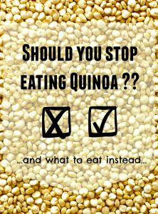should you stop eating quinoa? Check out this alternative... #vegan #frugal