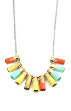 Mini Bullet Necklace from Halleu