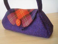 handbag Clootie Poak Designed and made in Scotland by Julia Cunningham www.julia-cunningham.co.uk