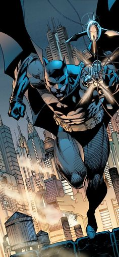 Batman (Bruce Wayne) (New Earth) | art by Jim Lee