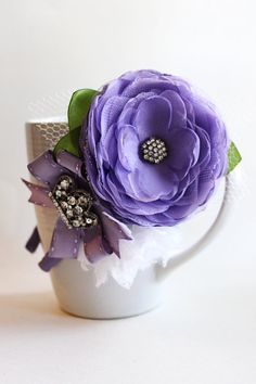 Sofia the First Headband by JensBowdaciousBows on Etsy, $16.95
