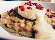 Risotto ai topinambur, crema di melanzane e tomino  www.lakasbahtragliulivi.com