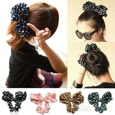 Strong-Willed Korea Fabric Tie Knot Hair Bands Rabbit Ears Hairband Flower Crown Headbands For Girls Hair Bows Hair Accessories D Girl's Hair Accessories Girl's Accessories