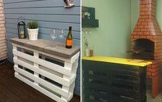 DIY: móveis feitos com pallets - Casinha Arrumada