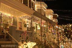 34th Street, Baltimore. Christmas Street.